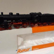 Trenes Escala: ROCO H0 LOCOMOTORA VAPOR S/3200 (BR 17), DE LA NS, REFERENCIA 63336 ANALÓGICA DC.. Lote 235603285