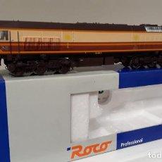 Comboios Escala: ROCO H0 DIGITAL LOCOMOTORA DIÉSEL 319 *RETALES*, DE RENFE, REFERENCIA 63972 DC CTE CONTINUA.. Lote 235623615