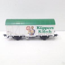 Trenes Escala: JIFFY VENDE VAGÓN LILIPUT H0 CERVECERO DB CERVEZA KÜPPERS KÖLSCH KUPPERS KOLSCH. REF K1.. Lote 236906170