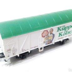 Trenes Escala: JIFFY VENDE VAGÓN H0 LILIPUT DE CERVEZA KÜPPERS KÖLSCH. VAGÓN CERVECERO KUPPERS KOLSCH. REF K2.. Lote 236906920