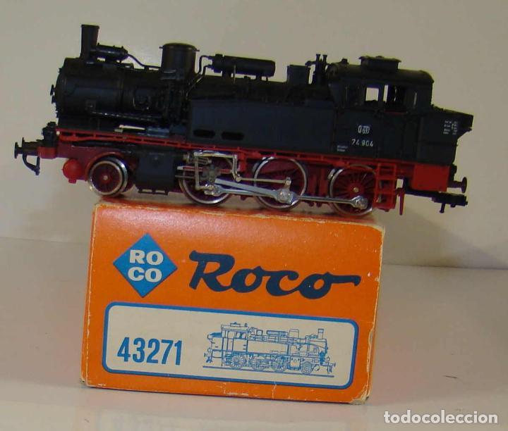 ROCO LOCOMOTORA DE VAPOR ANALOGICA REF:43271 ESCALA H0 (Juguetes - Trenes a Escala H0 - Roco H0)