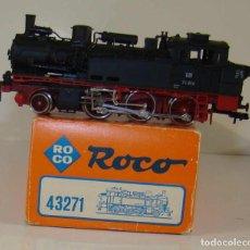 Trenes Escala: ROCO LOCOMOTORA DE VAPOR ANALOGICA REF:43271 ESCALA H0. Lote 237252860