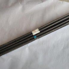 Trenes Escala: ROCO H0 LOTE DE VÍAS RECTAS DE APROX 98 CMS, MAL ESTADO EN GENERAL.TODAS LAS DE LAS FOTOS. Lote 240203415