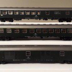 Trains Échelle: ROCO H0 SET 3 COCHES DE VIAJEROS D-ZUG, DE LA DB, REFERENCIAS 44458, 44742 Y 44743.. Lote 243415280