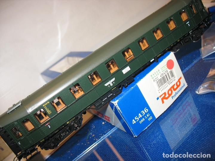 VAGON DE VIAJEROS DE ROCO 45436 DE LA D R HO (Juguetes - Trenes a Escala H0 - Roco H0)