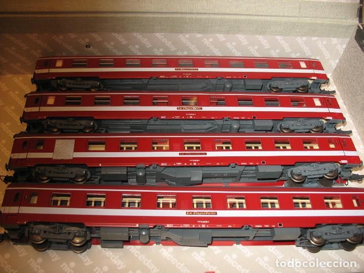 LOTE DE 4 VAGONES DEL CAPITOL DE ROCO (Juguetes - Trenes a Escala H0 - Roco H0)
