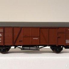 Trenes Escala: ROCO H0 VAGÓN CERRADO DRESDEN, DE LA DRG, REFERENCIA 46103.. Lote 244802075