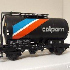 Trenes Escala: ROCO H0 VAGÓN CISTERNA DE DOS EJES DE *CALPAM*, DE LA NS, REFERENCIA 46139.. Lote 244806575