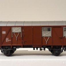 Trenes Escala: ROCO H0 VAGÓN CERRADO, DE LA DB, REFERENCIA 46266.. Lote 244807640