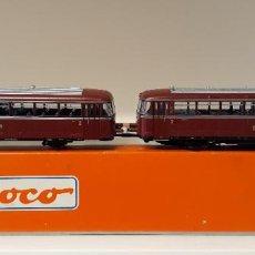 Trenes Escala: ROCO H0 AUTOMOTOR FERROBÚS VT 98, DE LA DB, REFERENCIA 63026 ANALÓGICO DC.. Lote 244864540