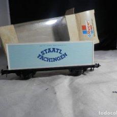 Trenes Escala: VAGÓN PORTACONTENEDOR ESCALA HO DE ROCO. Lote 244902555