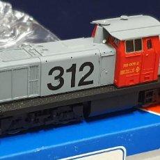 Trenes Escala: 312 ROJO Y GRIS. Lote 246984400