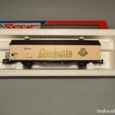 Trenes Escala: ANTIGUO VAGÓN RENFE CODORNIU EN ESCALA *H0* REF 47225 DE ROCO. Lote 247131095