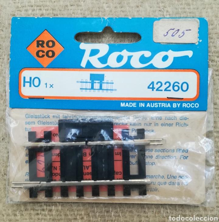 ROCO RF. 42260 - VÍA DE CONMUTACIÓN - EN BLISTER - PJRB (Juguetes - Trenes a Escala H0 - Roco H0)