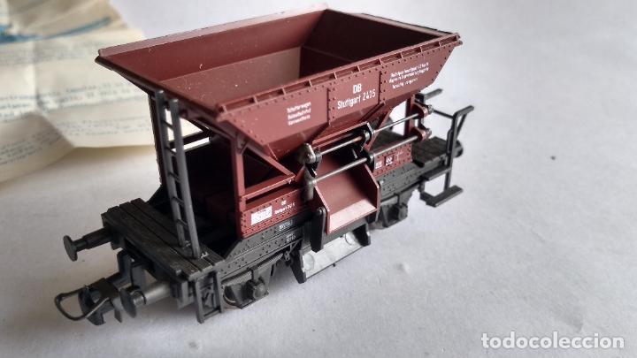 Trenes Escala: ROCO H0, VAGÓN TOLVA MINERAL, CON INSTRUCCIONES Y PIEZAS APERTURA - Foto 3 - 253920880
