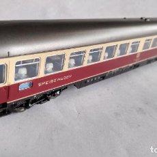 Trenes Escala: ROCO H0, VAGÓN COCHE RESTAURANTE DE LA DB, VÁLIDO IBERTREN ,FLEISCHMANN, ETC. Lote 253922580