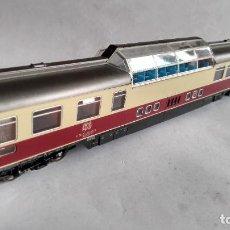 Trenes Escala: ROCO H0, VAGÓN COCHE PASAJEROS PANORÁMICO DE LA DB, VÁLIDO IBERTREN ,FLEISCHMANN, ETC. Lote 253922625