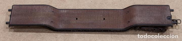 VAGON DE CARGA ROCO H0. AÑOS 70. INCOMPLETO. (Juguetes - Trenes a Escala H0 - Roco H0)