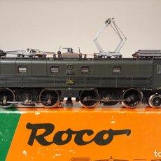 Trenes Escala: ROCO H0 LOCOMOTORA ELÉCTRICA BE 4/6 12323, DE LA SBB, REFERENCIA 14191 A AC ANALÓGICA.. Lote 254380905