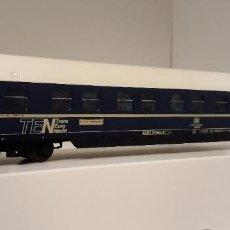 Trenes Escala: ROCO H0 COCHE CAMAS DEL SERVICIO TEN, DE LA DB, REFERENCIA 44395.. Lote 254394955