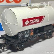 Trenes Escala: ROCO 46803 RENFE VAGÓN CISTERNA CEPSA. Lote 254554800