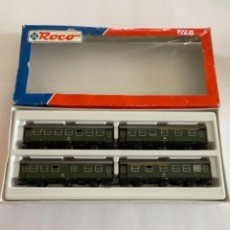 Trenes Escala: ROCO. HO. REF. 44047. CONJUNTO 4 COCHES. Lote 254707820