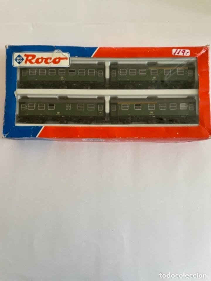 Trenes Escala: ROCO. HO. REF. 44047. CONJUNTO 4 COCHES - Foto 4 - 254707820