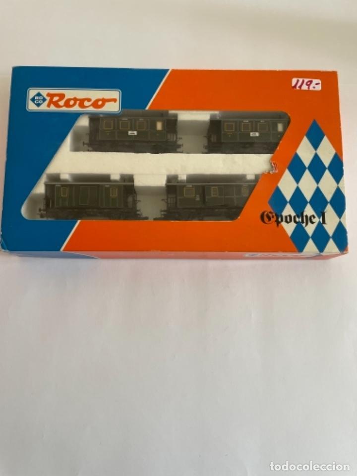 Trenes Escala: ROCO. HO. REF. 44014. CONJUNTO 4 COCHES - Foto 6 - 254708450