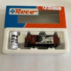 Trenes Escala: ROCO. HO. REF. 47655. VAGON B.M.W. CON LUZ DE COLA. Lote 254729835
