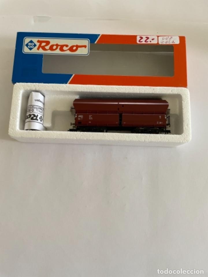 ROCO. HO. REF. 47057. VAGON CON LUZ DE COLA (Juguetes - Trenes a Escala H0 - Roco H0)