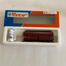 Trenes Escala: ROCO. HO. REF. 47057. VAGON CON LUZ DE COLA. Lote 254730645