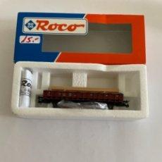 Trenes Escala: ROCO. HO.VAGON CON CARGA DE MADERA. Lote 254732350