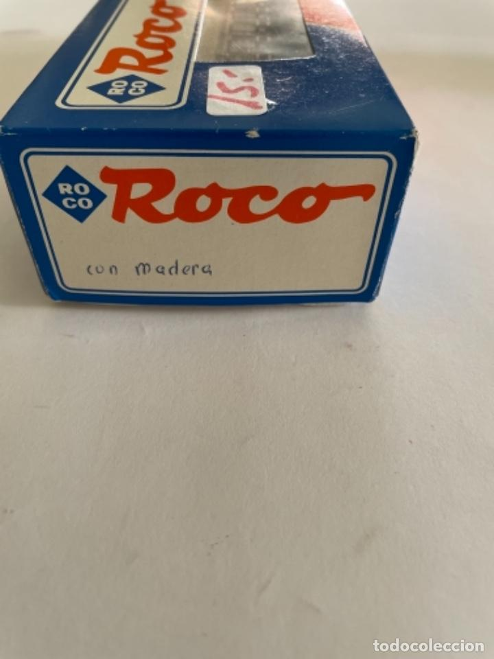 Trenes Escala: ROCO. HO.VAGON CON CARGA DE MADERA - Foto 3 - 254732350