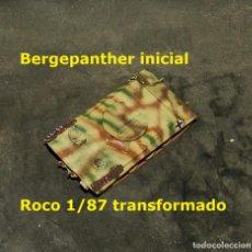 Trenes Escala: BERGEPANTHER INICIAL, ROCO 1/87 MODIFICADO. Lote 255567295