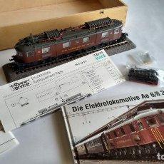 Trenes Escala: ROCO H0 MUSEUMS EDITION, LOCOMOTORA ELÉCTRICA AE 6/8 205 DA LA BLS.NUEVA.VÁLIDA FLEISCHMANN,IBERTREN. Lote 260725665