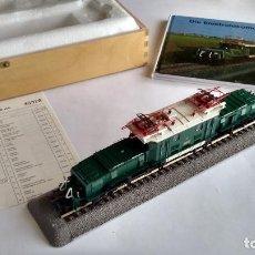 Trenes Escala: ROCO H0 MUSEUMS EDITION,LOCOMOTORA ELÉCTRIC 1100.102 OBB.COCODRILO NUEVA.VÁLIDA FLEISCHMANN,IBERTREN. Lote 260726645