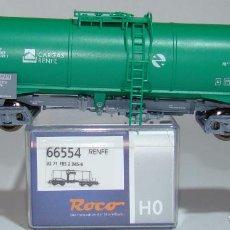 Trenes Escala: ROCO VAGON CISTERNA CARGAS RENFE REF:66554 ESCALA HO. Lote 261658960