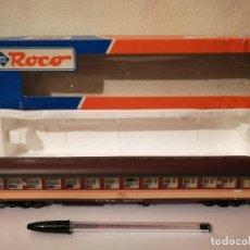 Trenes Escala: COCHE VIAJEROS RENFE - ROCO 44462 - TREN ELECTRICO ESCALA H0 - EUROFIMA. Lote 267297839