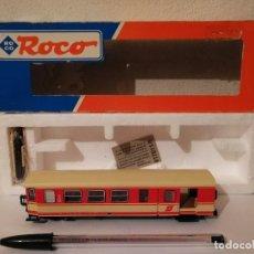 Trenes Escala: COCHE VIAJEROS ROCO 34002 - ESCALA H0 - ÖBB 4108 - TREN ELECTRICO. Lote 267297879