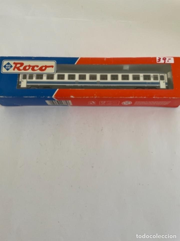 ROCO. HO. REF 44375 COCHE RENFE SEGUNDA LARGO RECORRIDO (Juguetes - Trenes a Escala H0 - Roco H0)