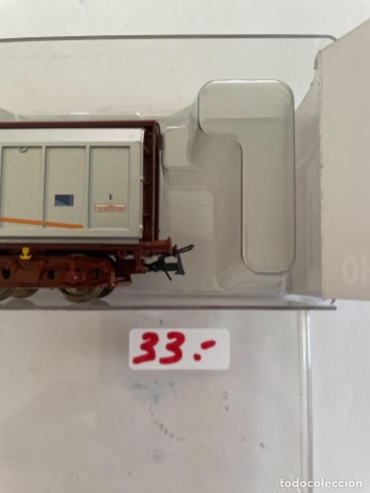 Trenes Escala: ROCO. HO. REF 67564 RENFE VAGON PAQUETE EXPRES PUERTAS CORREDERAS - Foto 4 - 268266519