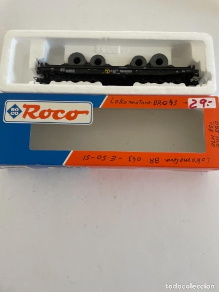 ROCO. HO. REF 46553 DB VAGON PORTABOBINAS (Juguetes - Trenes a Escala H0 - Roco H0)