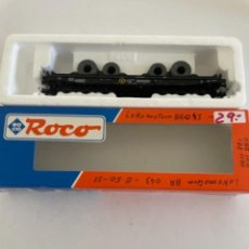 Trenes Escala: ROCO. HO. REF 46553 DB VAGON PORTABOBINAS. Lote 268270059