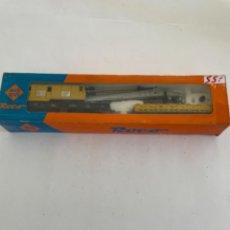 Comboios Escala: ROCO. HO. REF 44316B DB VAGON DOBLE GRUA. Lote 268272804