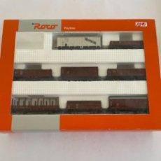 Trenes Escala: ROCO. HO. REF 4402 DB SET DE 8 VAGONES. Lote 268273919