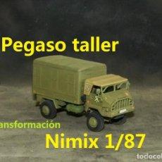 Trenes Escala: PEGASO TALLER, NIMIX 1/87 MODIFICADO. Lote 269064273