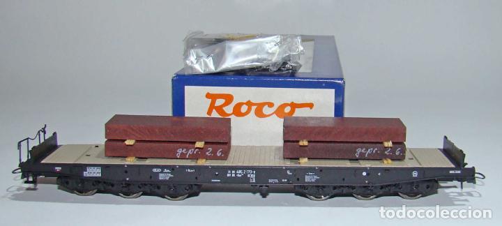 ROCO VAGON CARGAS PESADAS REF: 45947 ESCALA H0 (Juguetes - Trenes a Escala H0 - Roco H0)