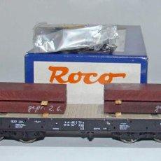 Trenes Escala: ROCO VAGON CARGAS PESADAS REF: 45947 ESCALA H0. Lote 296011768