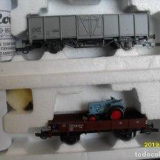 Trenes Escala: 2 VAGONES ROCO H0 Nº3. Lote 271534468