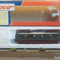 Trenes Escala: ROCO H0 LOCOMOTORA ELÉCTRICA E 18 31, DE LA DR, REFERENCIA 43815 DC ANALÓGICA.. Lote 271612443